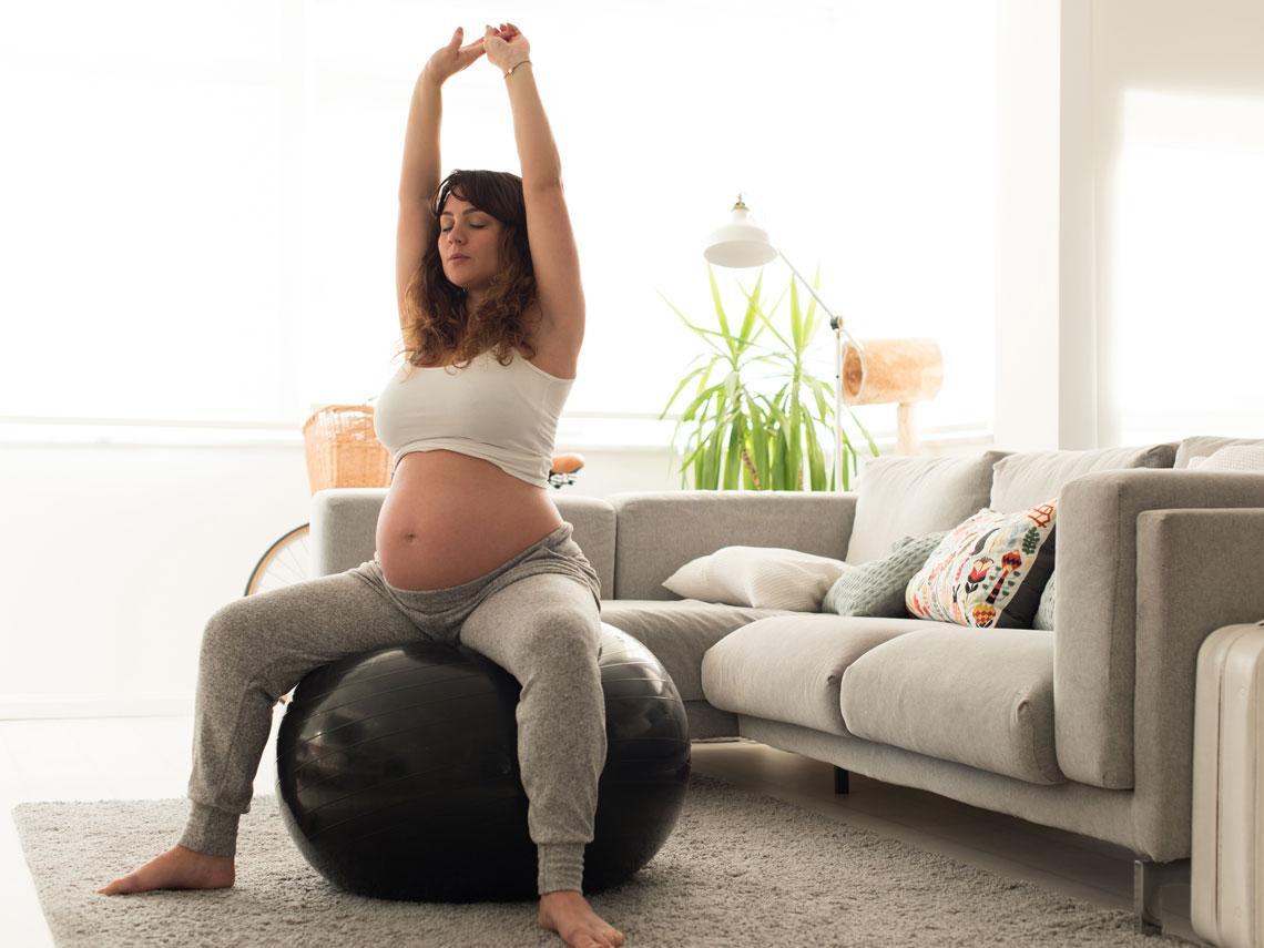Ejercicio embarazada