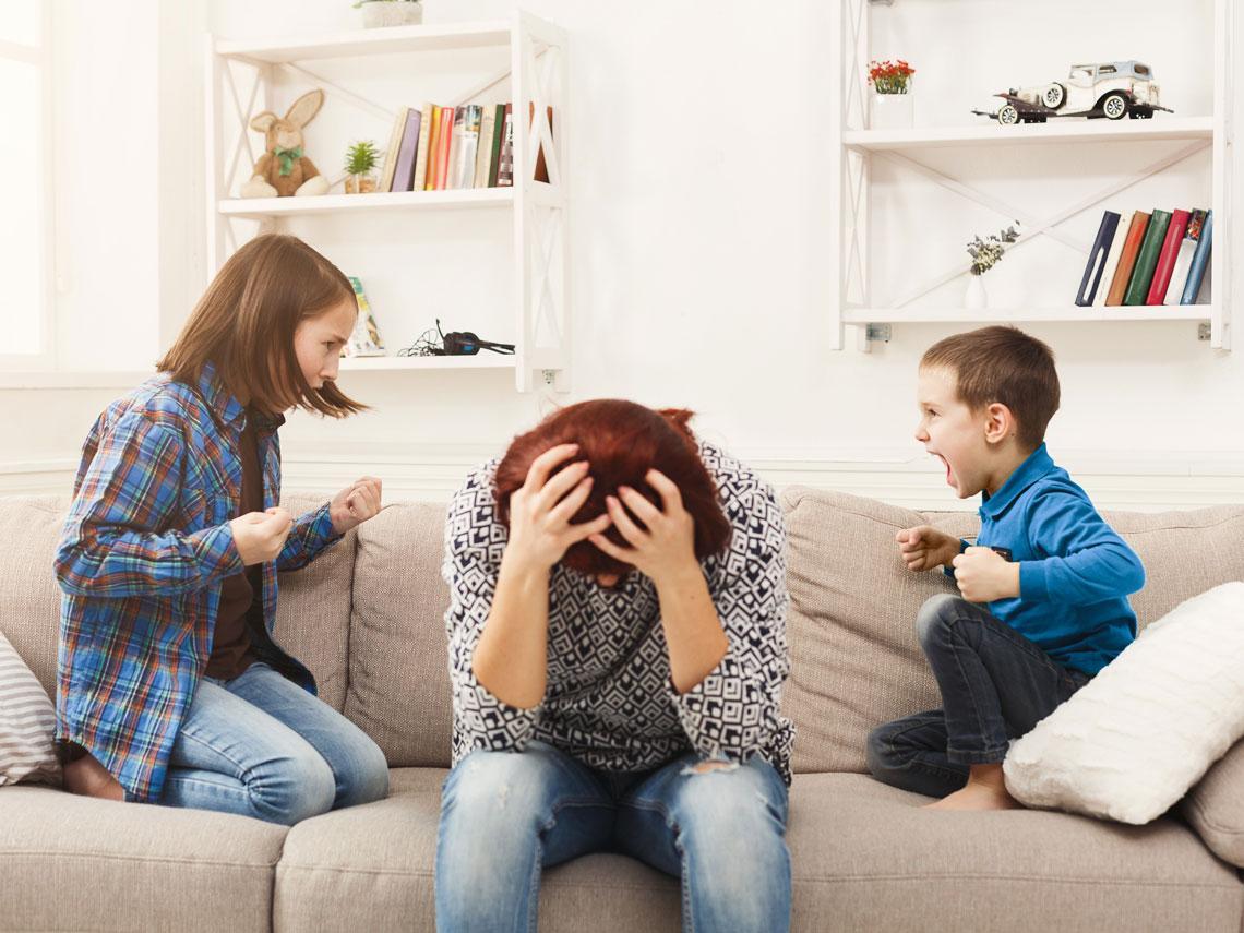 Peleas entre hermanos: solución en 5 pasos