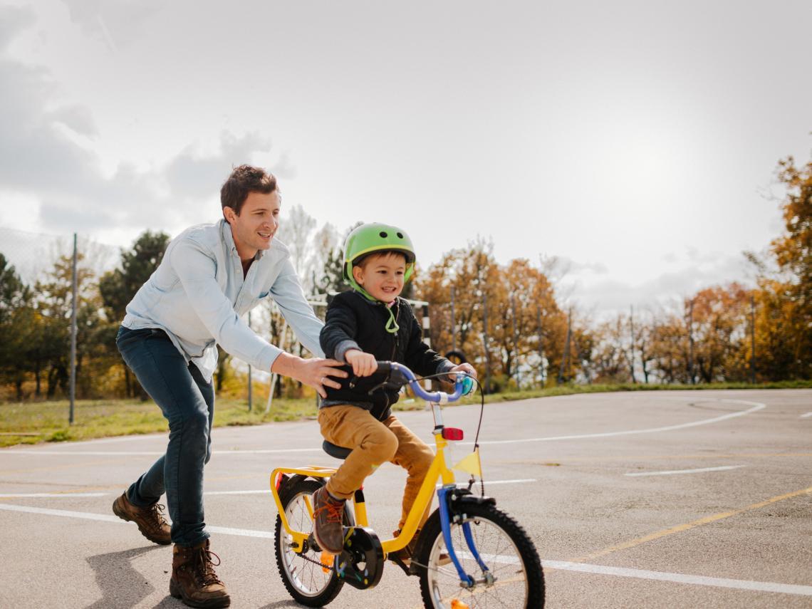 Trucos para montar en bici sin ruedines