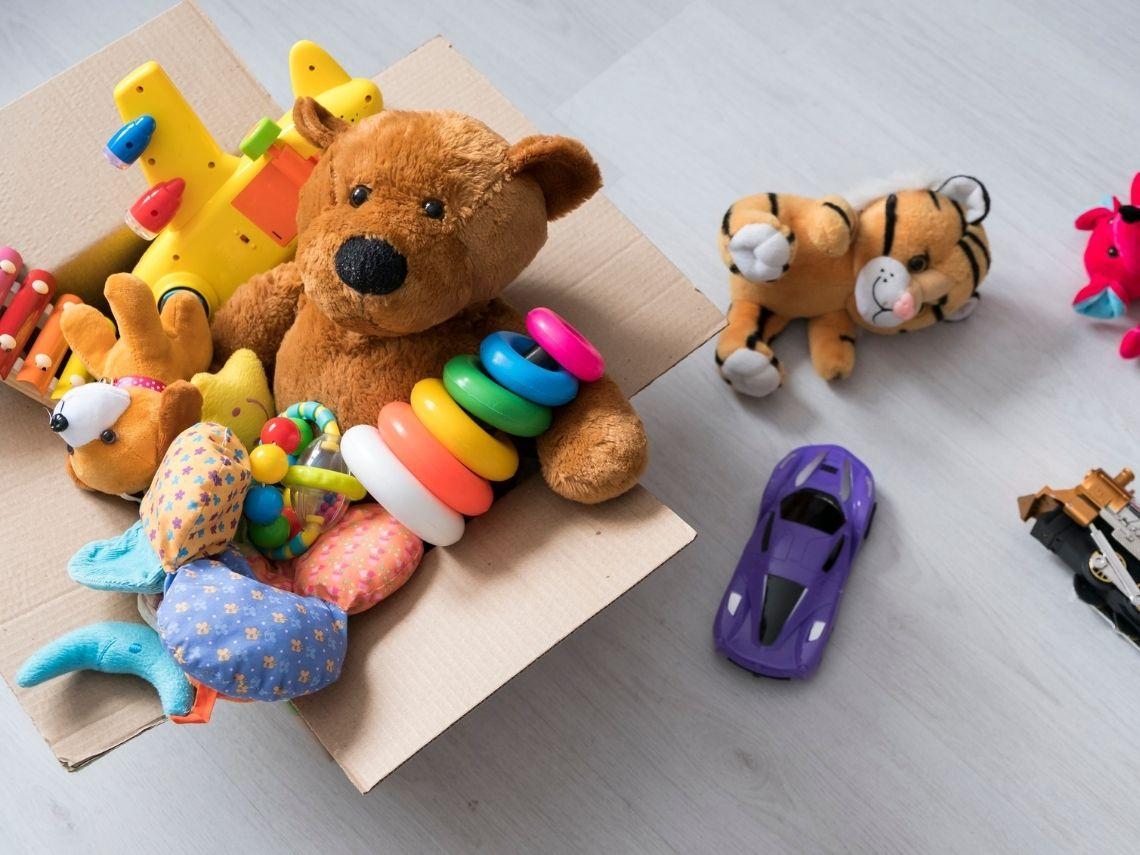 Dónde donar juguetes