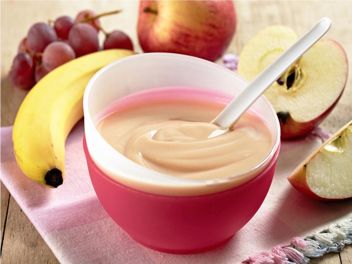 Primeras frutas del bebé