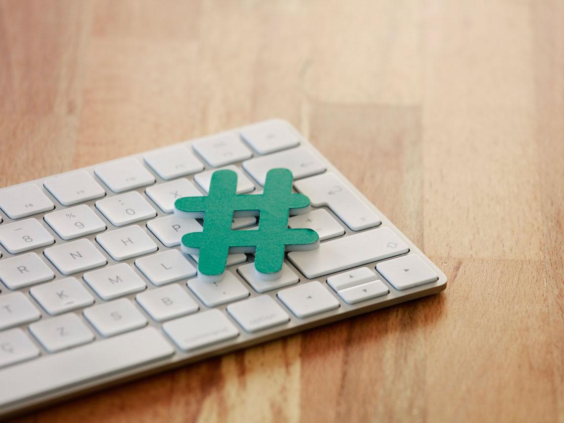hashtag redes sociales