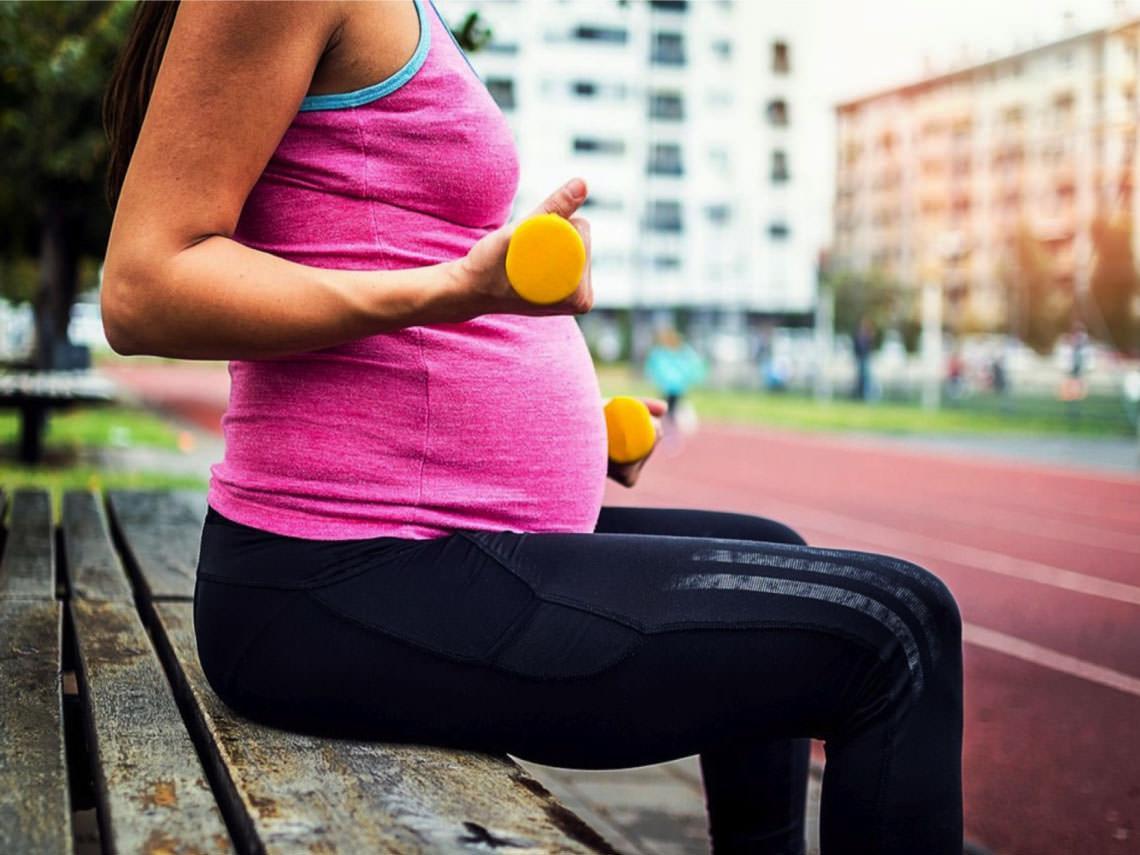 Cualidades del ejercicio físico en el embarazo