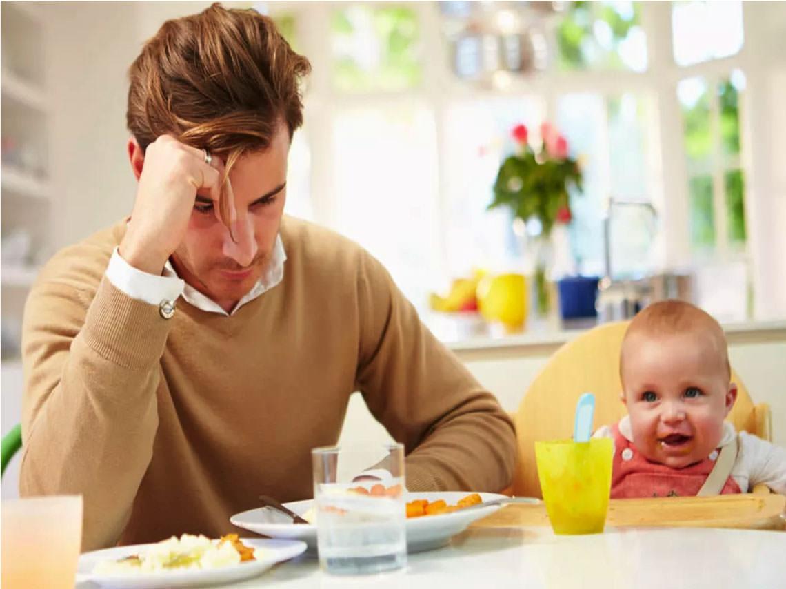 Depresión posparto en padres