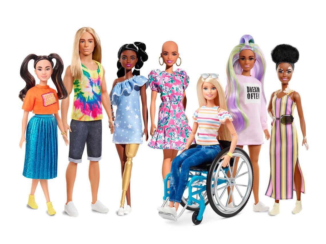 Barbie fashonistas