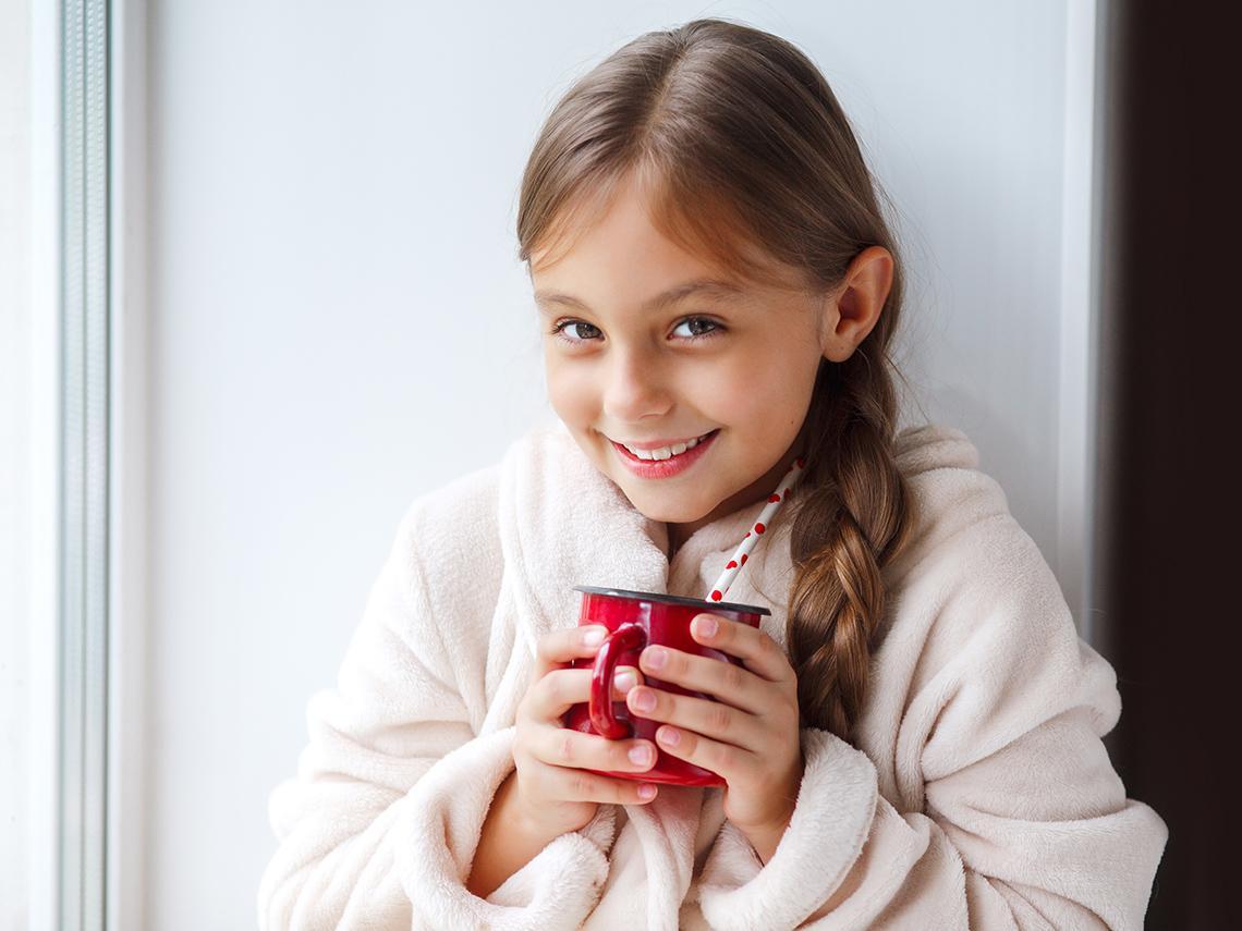 Es seguro que los niños tomen té e infusiones