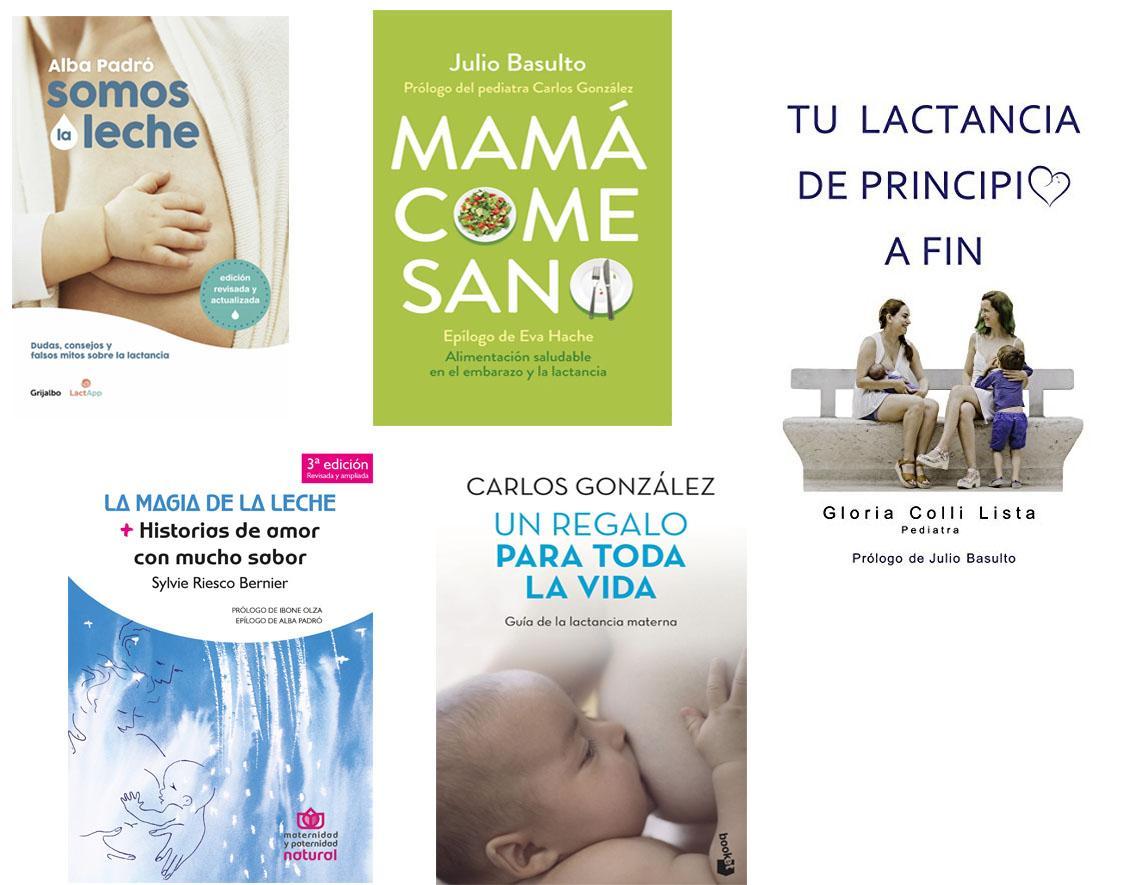libros sobre lactancia