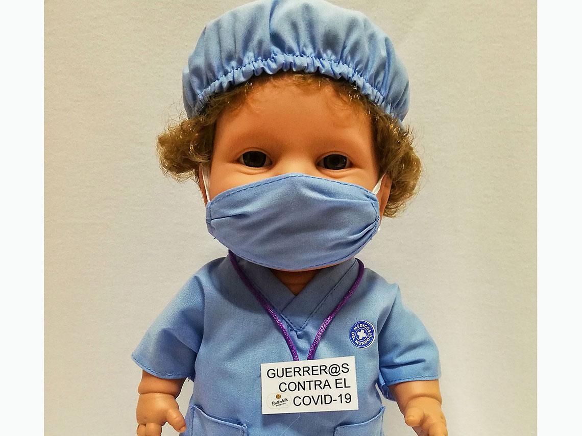 muñeco sanitario