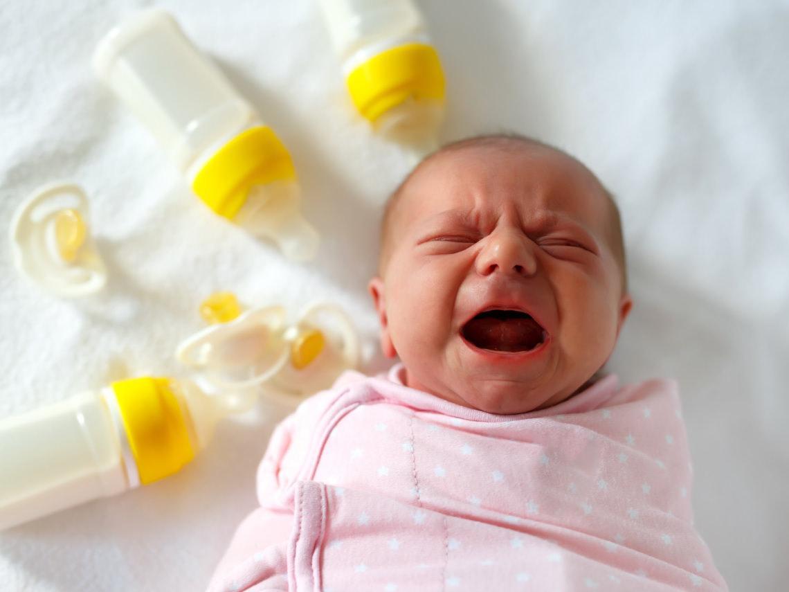 Mi bebé no quiere el biberón