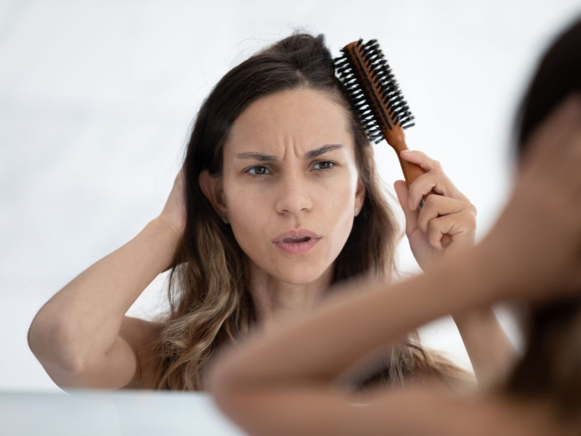 La caída del pelo después del parto