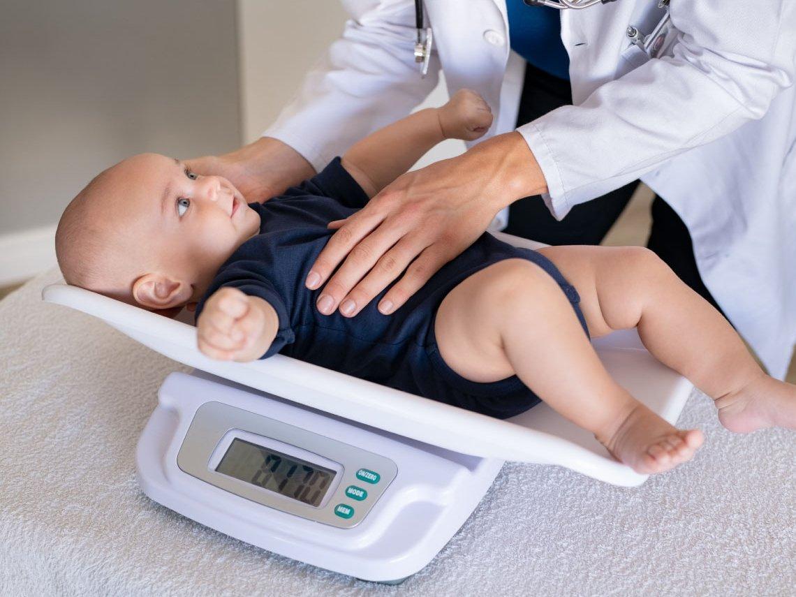 Qué significa que el bebé es de percentil bajo