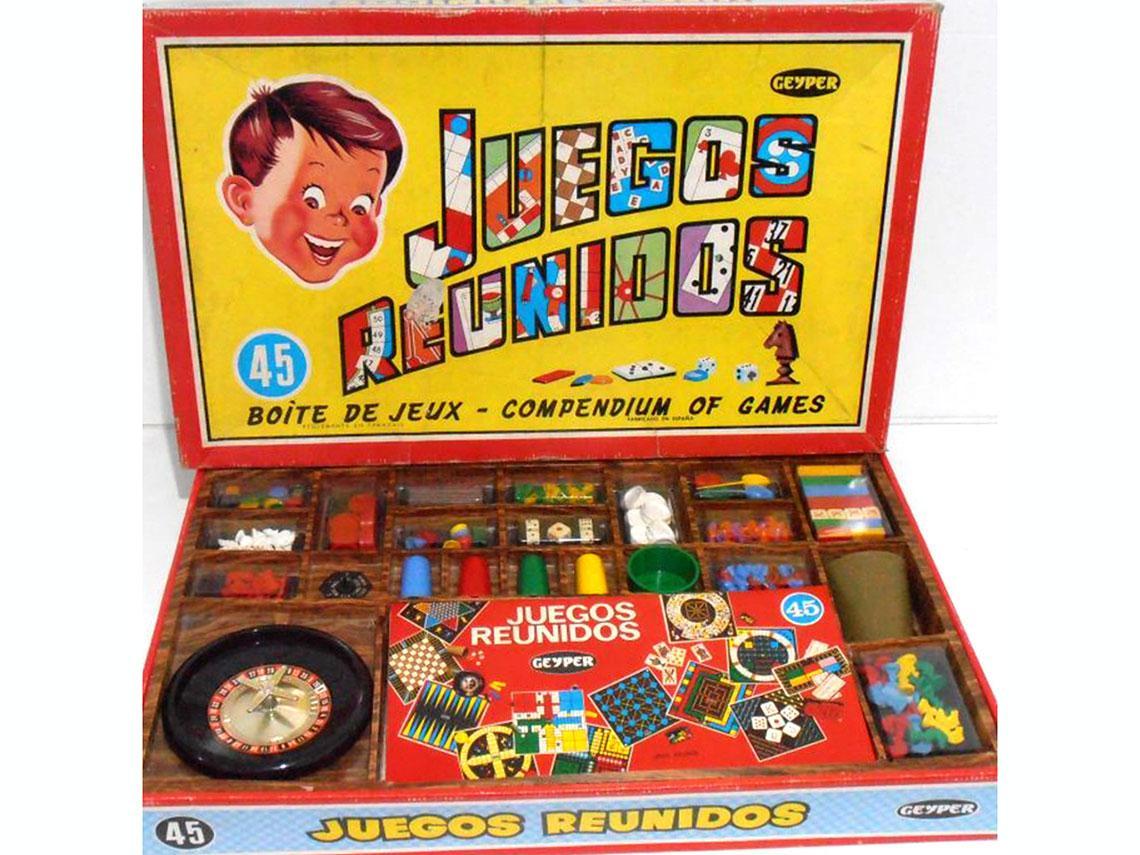 caja de juegos renunidos