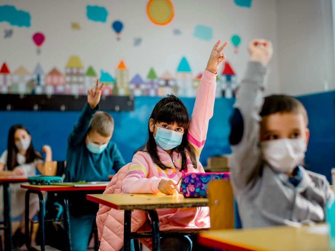 Dermatitis atópica y mascarilla en niños