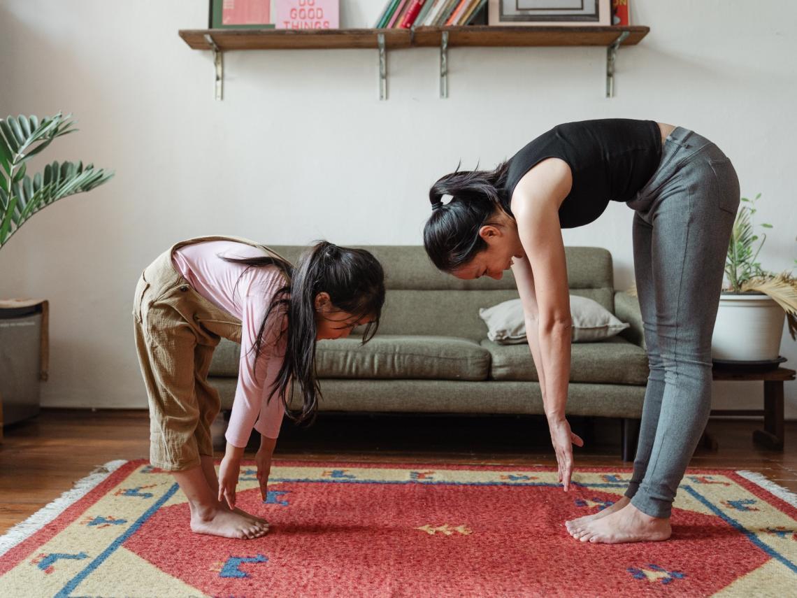 Juegos de yoga (Foto: Pexels)