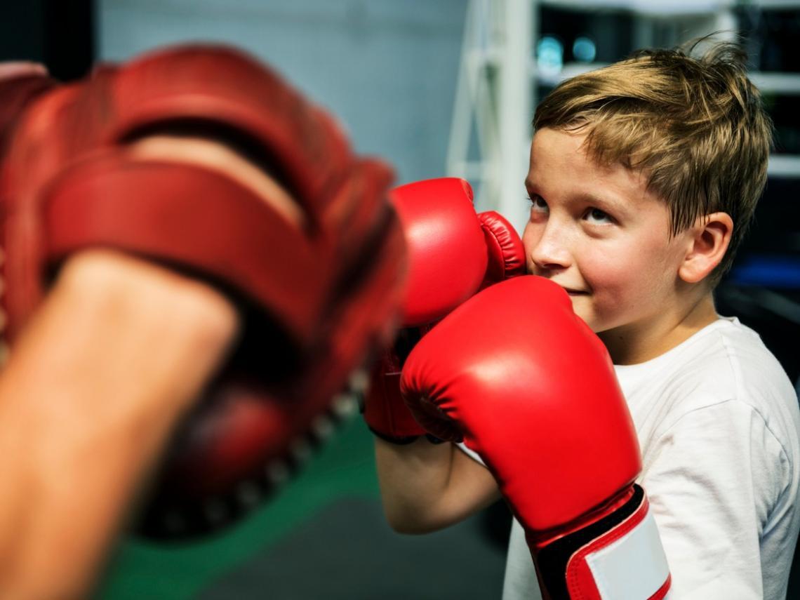 A qué edad puede aprender un niño a boxear?