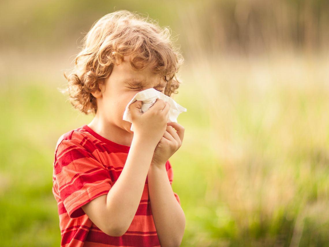 Un buen manejo de las alergias podría evitar que el niño desarrolle asma