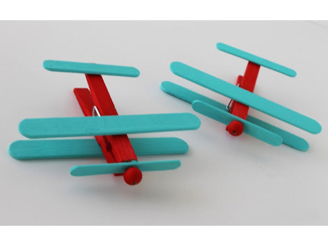 aviones de madera
