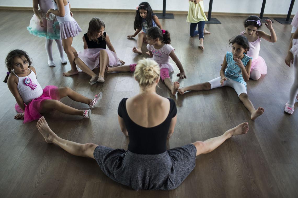 niños ballet