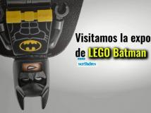 Visitamos la expo Lego Batman