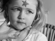 Pintacaras: cómo hacer un maquillaje de superheroína