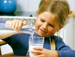 ¿Cuánta leche deben tomar los niños?