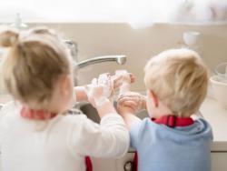Lavarse las manos evita infecciones