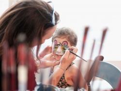 Cómo pintar la cara para Carnaval. Consejos para novatos