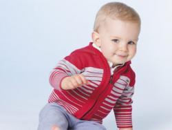 Moda bebés: niños con aire marinero