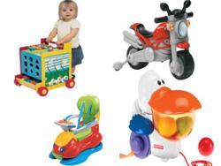 Empieza a andar, ¿qué juguetes ayudan al niño?