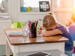 Depresión postvacacional, ¿también en niños?