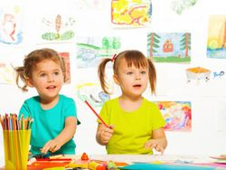 Tres-cuatro años: así dibujan a esta edad