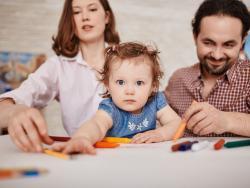Papá y mamá, aliados en la educación de los hijos