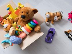 ¿Dónde podemos donar juguetes usados?