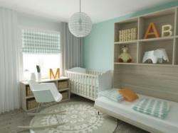 Claves para iluminar el cuarto de tus hijos