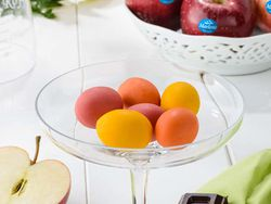 ¡Rico, rico! Huevos de Pascua rellenos de manzana