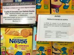Alarma por un falso anuncio sobre la retirada de papillas de cereales de Nestlé