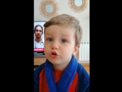 ¡Es inquebible!: la reacción ante el coronavirus de este niño enamora a Twitter