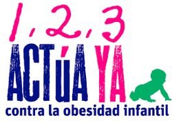 1,2,3... Actúa YA contra obesidad infantil