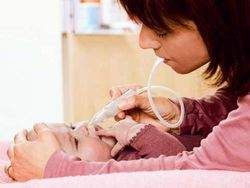 Los cuidados de la cara del bebé