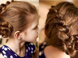 Peinados para niñas para una ocasión especial