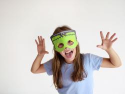 Ideas para hacer máscaras para Halloween, paso a paso