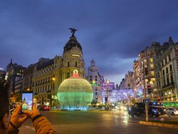 Planes navideños para ir con niños por Madrid