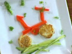 Hamburguesas de patata y pescado