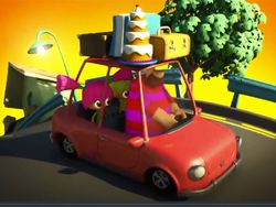 Canción infantil: El auto de papá