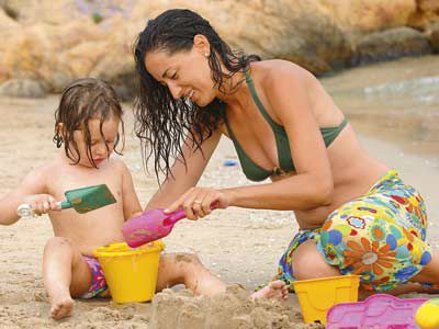 Juguetes de playa. ¡A divertirse!
