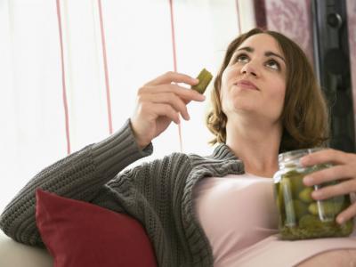 ¡Pero qué difícil es comer durante el embarazo!