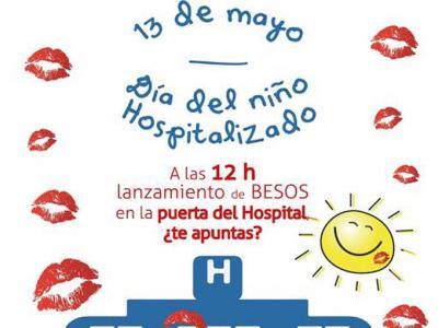 'Un mar de besos' para homenajear el 13 de mayo, Día del Niño Hospitalizado