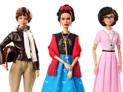 Las mujeres más inspiradoras reunidas en la nueva colección de Barbie