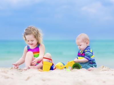 Especial verano: ¡niños al agua!