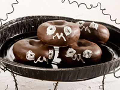 Donuts de chocolate